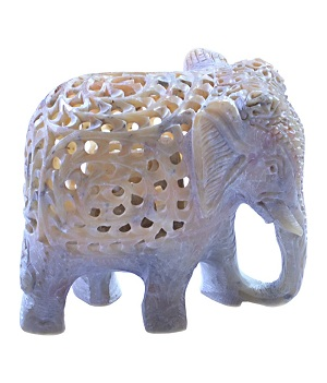Elephant marble handicrafts