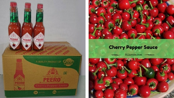 Cherry pepper sauce