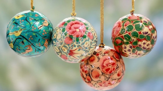 Kashmir Handicrafts Online Buy Hand Painted Papier Mache Products